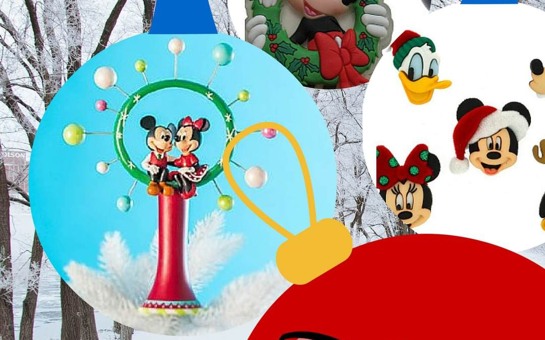 A Disney Christmas – Mickey Mouse Christmas Decorations