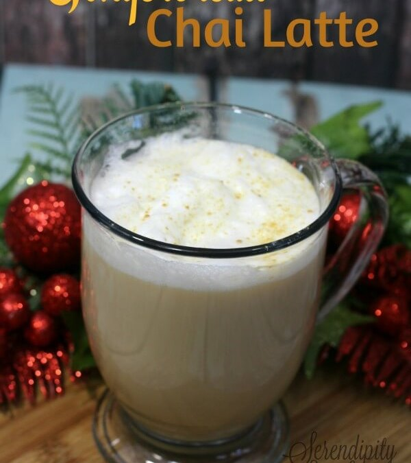 Gingerbread Chai Latte Recipe