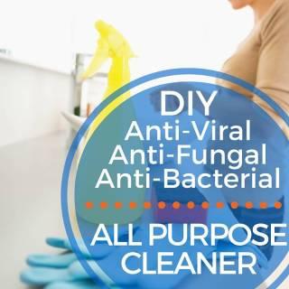 DIY NATURAL ALL PURPOSE CLEANER RECIPE