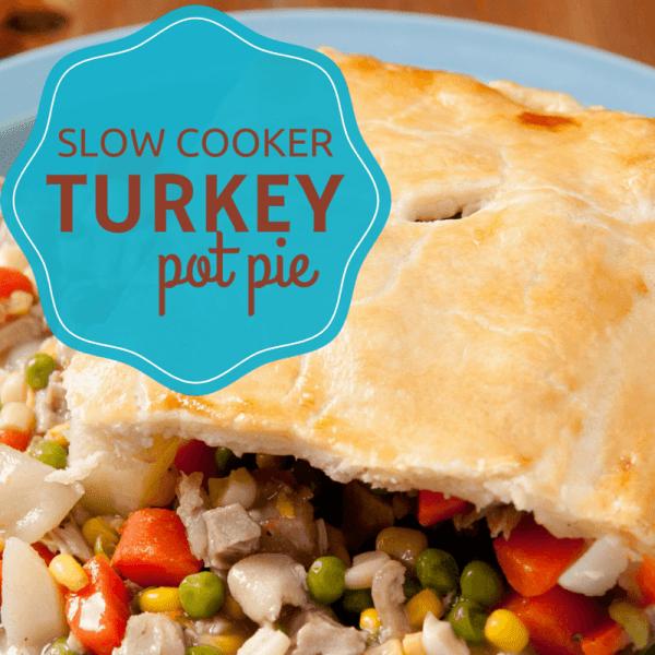 Turkey Potpies Recipe: Slow Cooker Turkey Pot Pie Recipe