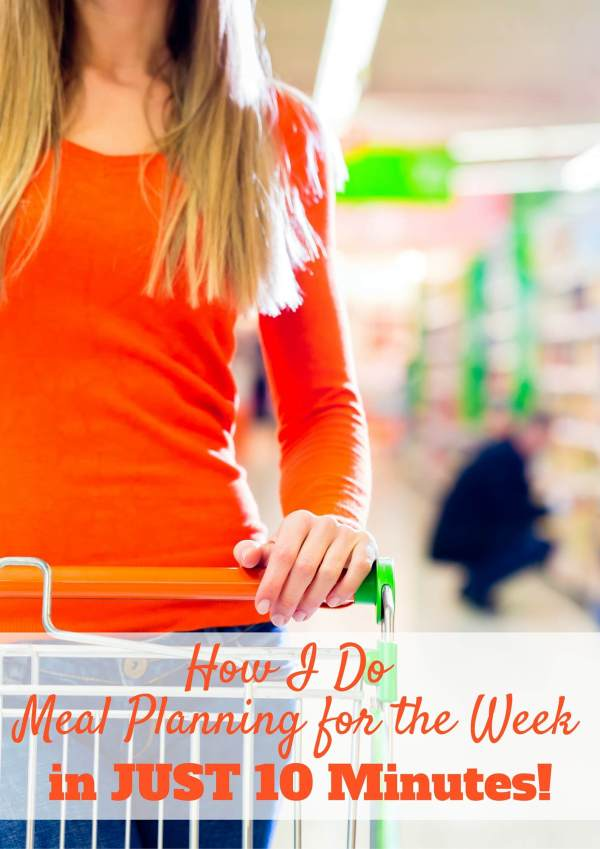 How to Meal Plan FAST