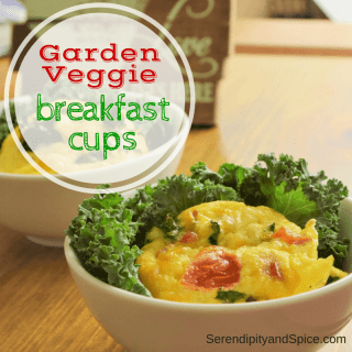 Garden Veggie Breakfast Cups Recipe