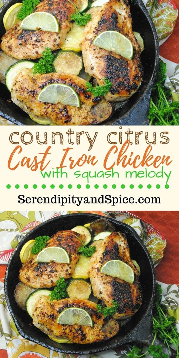 Cast Iron Country Citrus Chicken Recipe