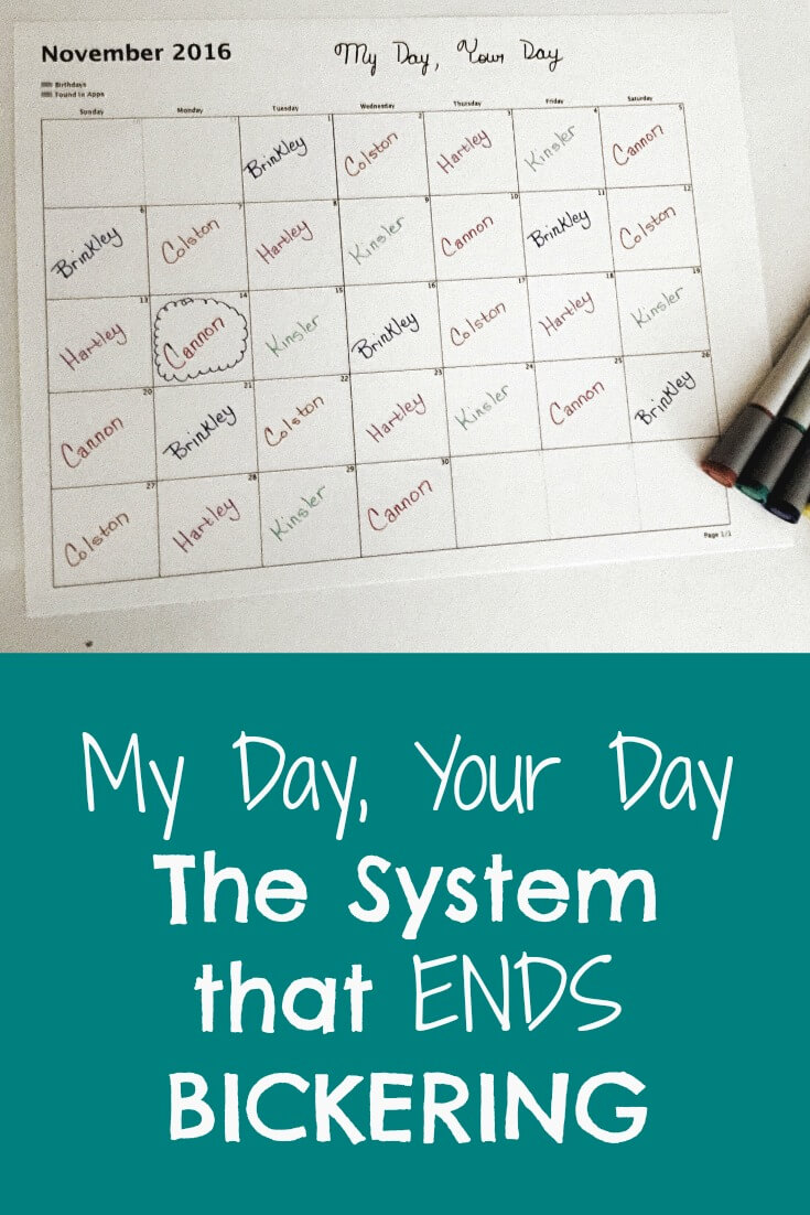 My Day Your Day