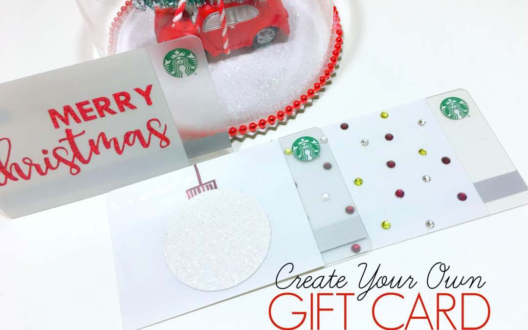 Design Your Own Starbucks Gift Cards
