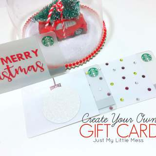 Create your own personalized Starbucks gift card