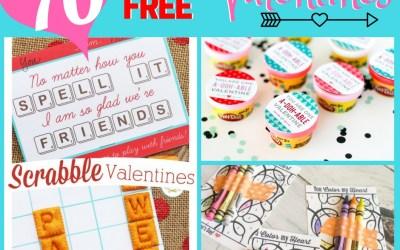 Non-Candy Valentine Card Ideas