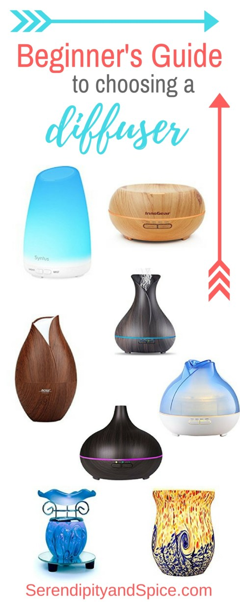 Tips for choosing an essential oil diffuser and why you should use a diffuser for essential oils.