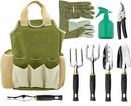 VREMI Horticulture Helper 9 pcs Garden Tools Set