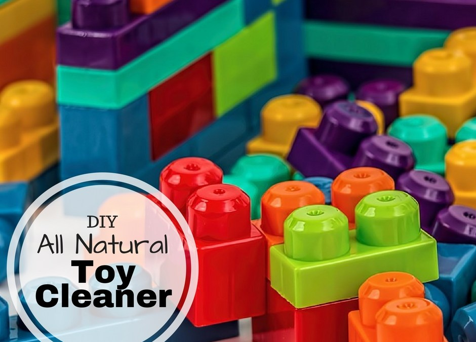 DIY All Natural Toy Cleaner