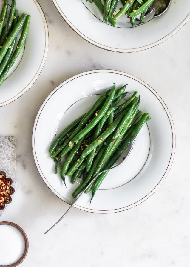 Spicy Indian Green Beans (Guferati)
