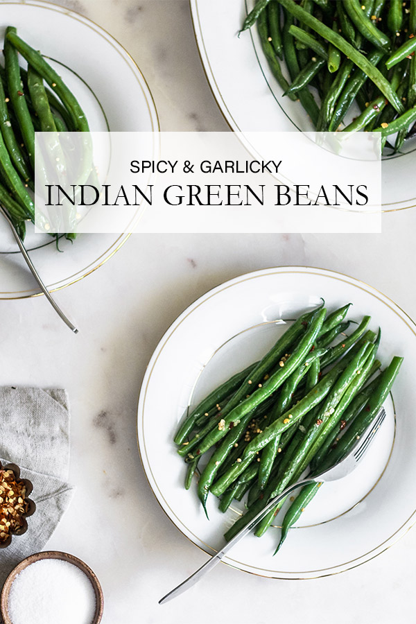 Guferati - Spicy Indian Green Beans
