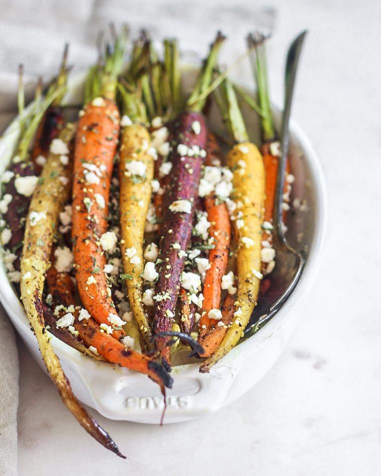 Turmeric & Za'atar Roasted Carrots
