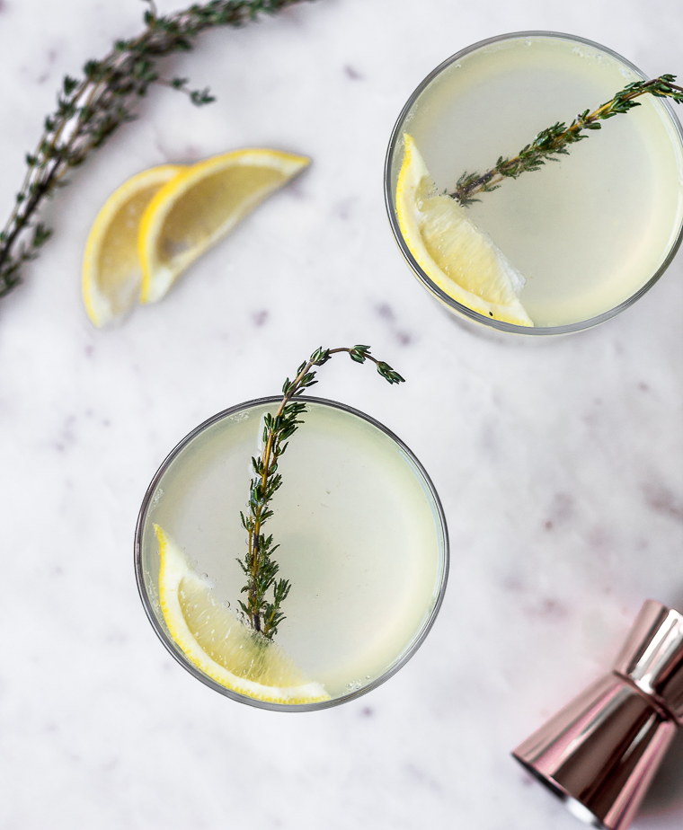 Thyme French 75