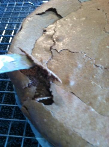 Hollow crust