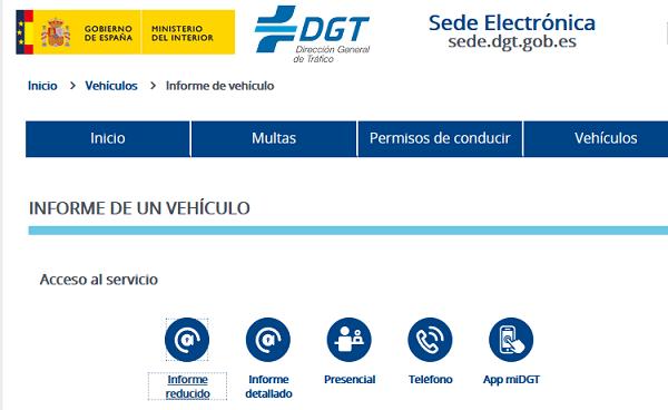 Sede electrónica DGT