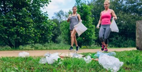 Plogging: el deporte con el que cuidas del medio ambiente