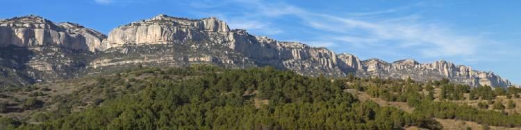 parques nacionales Cataluña - sierra de Montsant