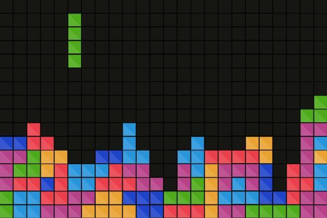 videojuegos clásicos - tetris