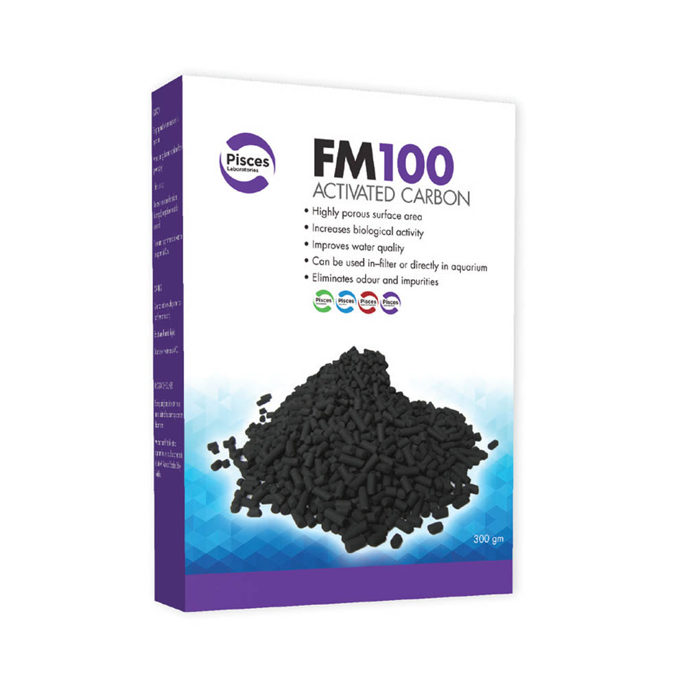 PISCES LABORATORIES FM100 Activated Carbon 300g