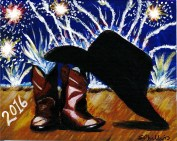 Firework Cowboy