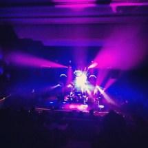 Mogwai performing