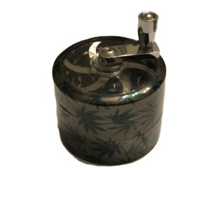 Large 4-Piece Metal Grinder accessories Serene Farms Online Dispensary