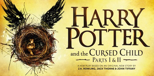 Harry Potter and the Cursed Child by J.K. Rowling, Jack Thorne, & John Tiffany