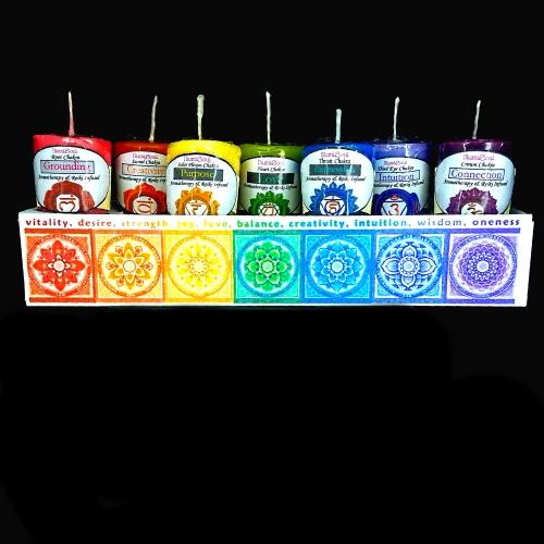 chakra candle bundle