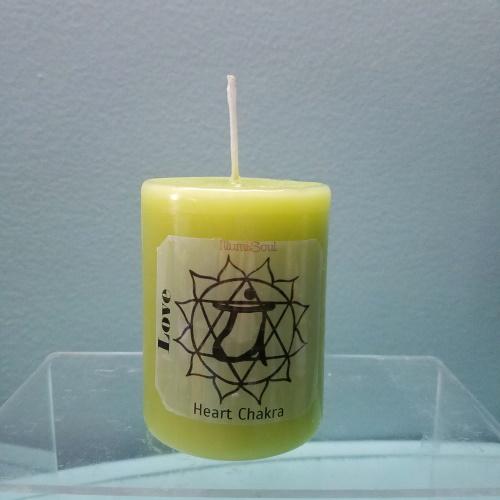 heart chakra candles medium