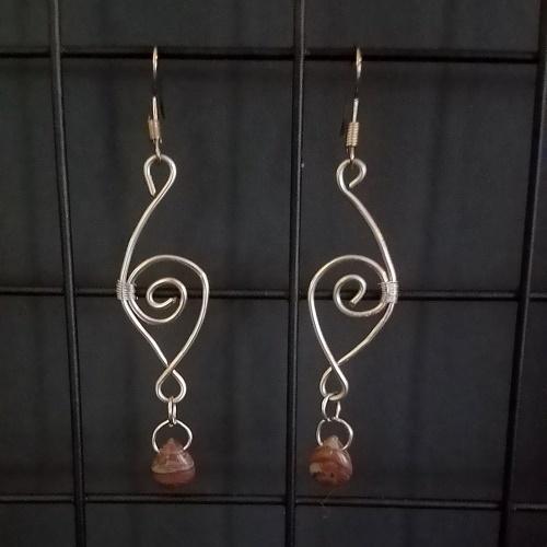 desert jasper earrings