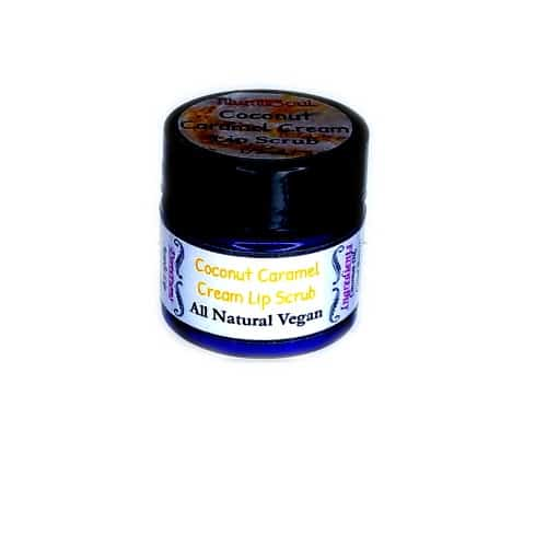 Coconut caramel cream lip scrub