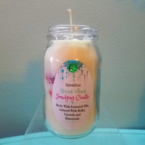 sacred smudge candle