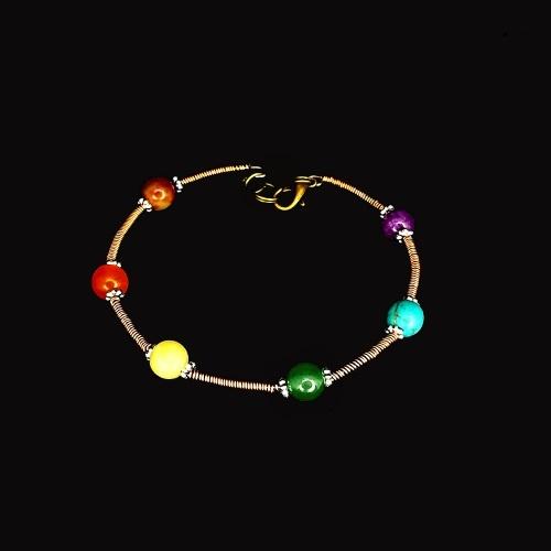 wire chakra bracelets copper