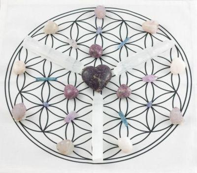 crystal grids serene healing reiki studio Jewett City CT