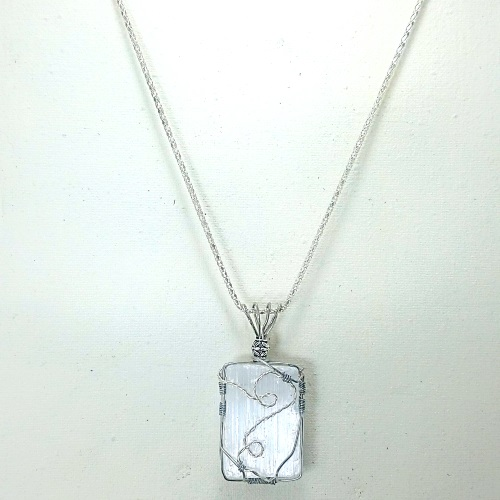 slenite wrapped necklace