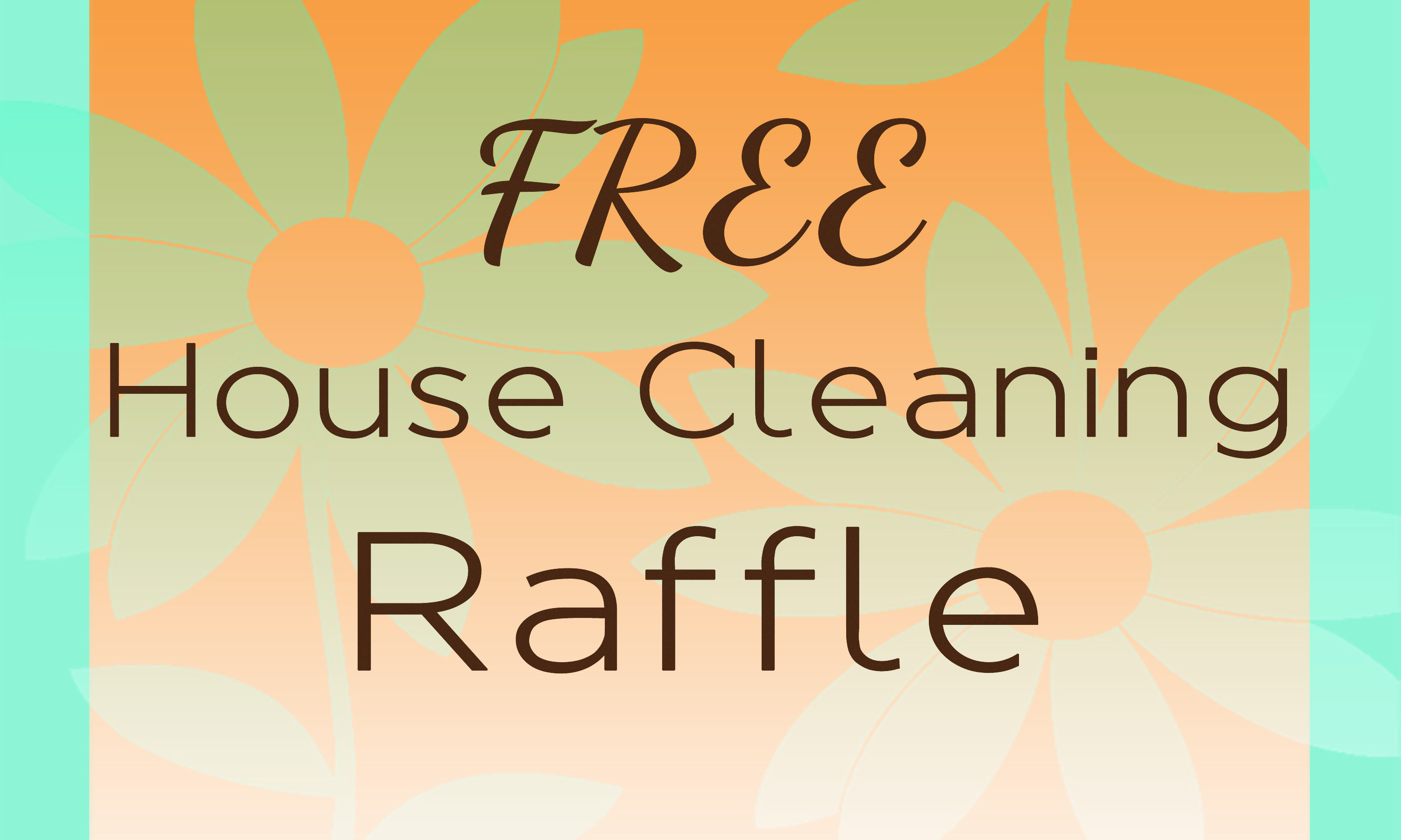 FREE House Cleaning Winner