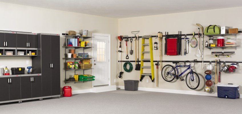 SPRING CLEANING IN A SNAP: Organize the Garage