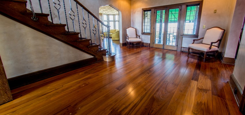 Give your floors a spa treatment, NEW steam mopping service