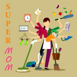 Super Mom High Performing Career Lady