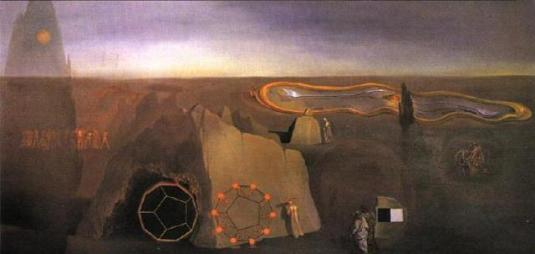 Salvidor Dali -In the Fourth Dimension