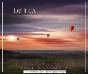 Let it go serenity links coaching