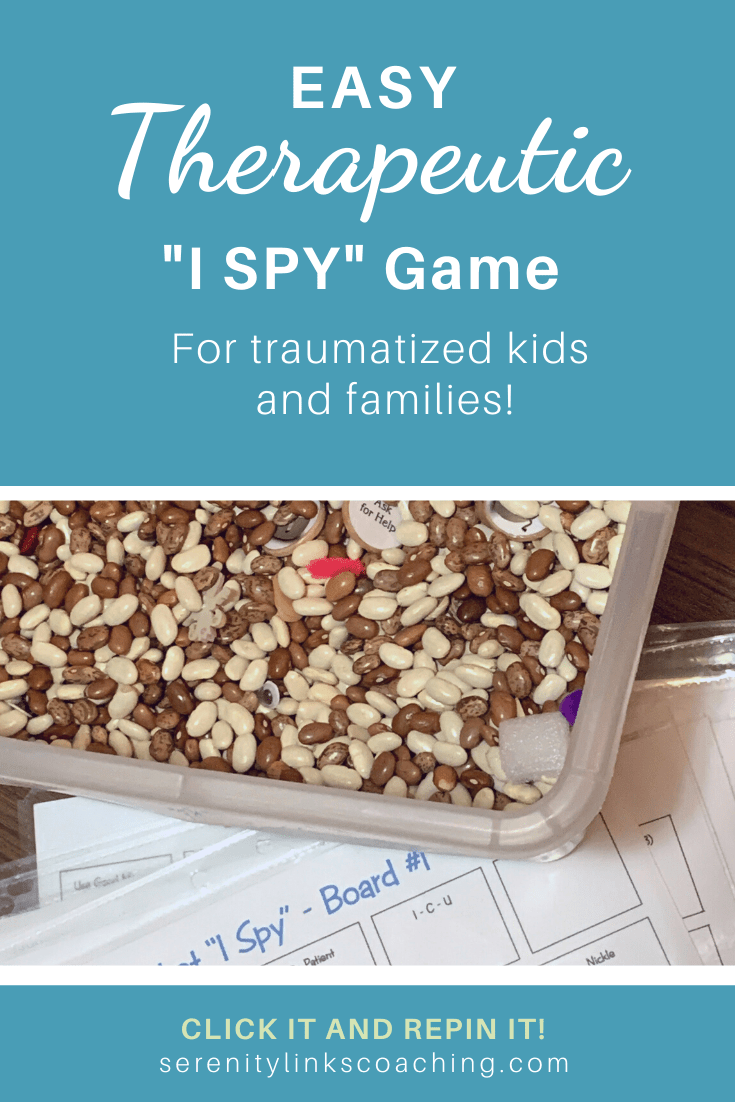 "Homemade Bean Bucket ""I Spy"" Game"