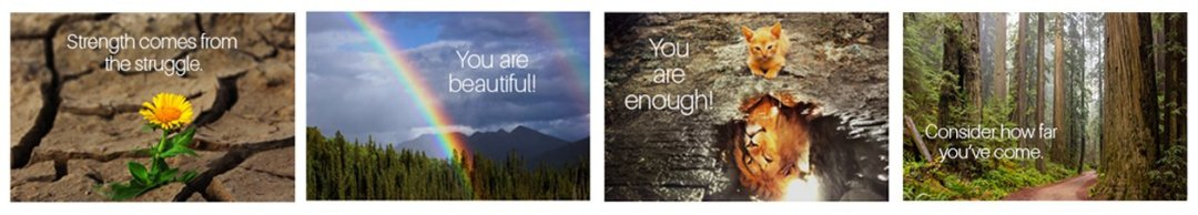 Sample affirmation cards for moms of children affected by early childhood trauma - Copyright Serenity Links Coaching, LLC