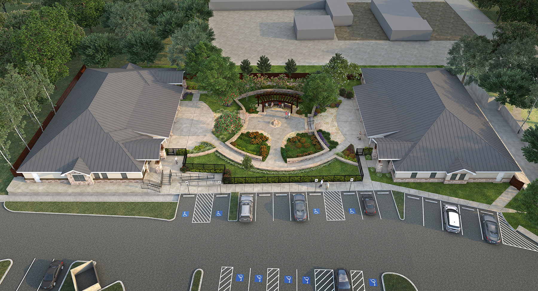 Serenity Oaks B Aerial | Serenity Oaks Assisted Living & Memory Care, Respite Care in Live Oaks, San Antonio, Texas
