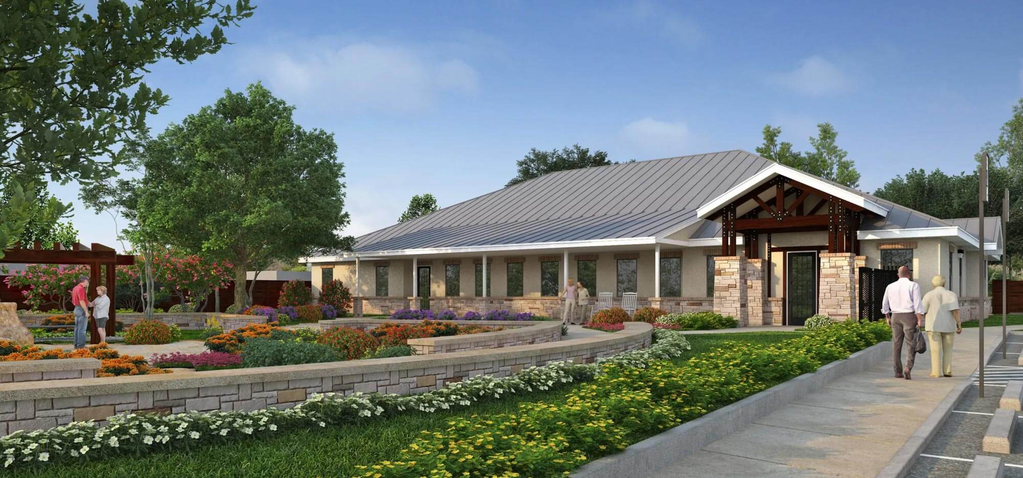 Serenity Oaks Rendering | Serenity Oaks Assisted Living & Memory Care, Respite Care in Live Oaks, San Antonio, Texas