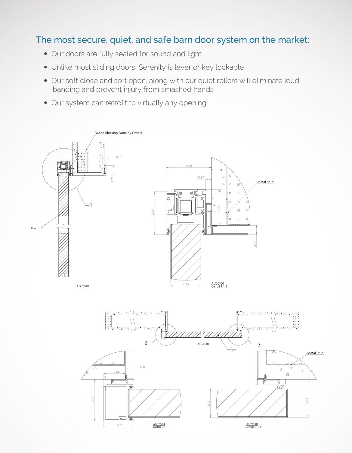 sliding-barn-door-systems-colorado springs, co_Serenity Sliding Door Systems