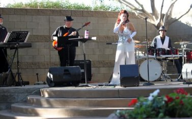 Serenity performing at Phoenix Place