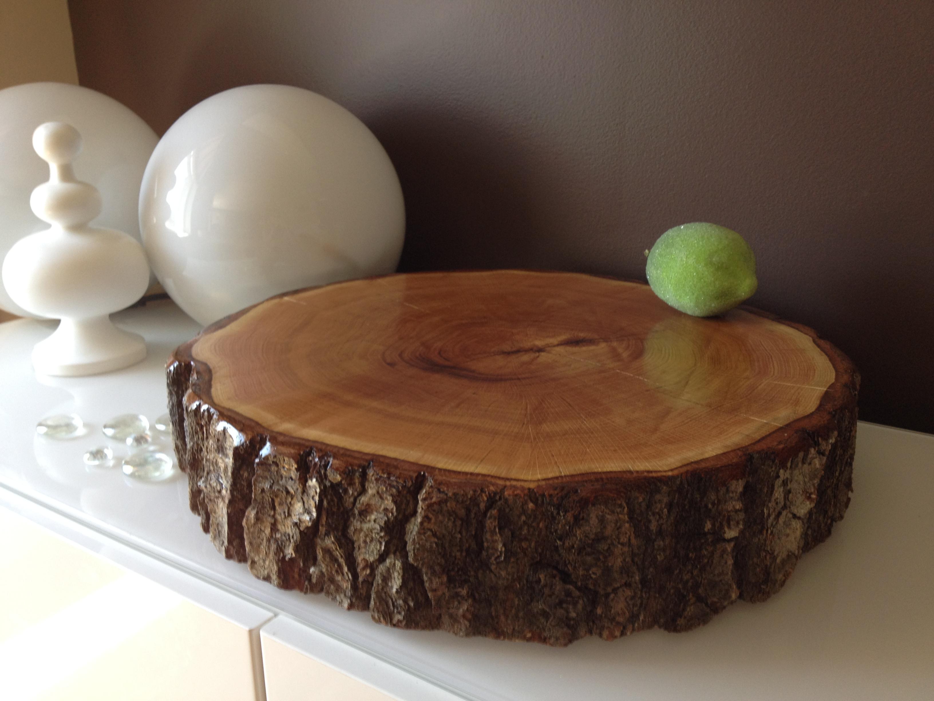 Wood Slice Wedding Cake Stands Wood RoundsStump Cake Stand