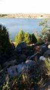 Clayton Lake view from dinosaur tracks trail